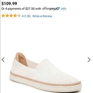 UGG Sammy white slip-on sneaker